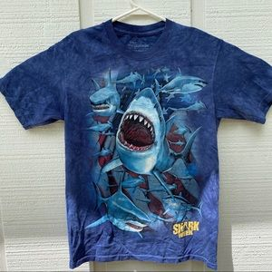 The Mountain Shark Week Tiedyed Shirt Small